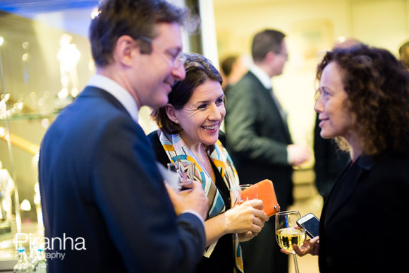 Guests enjoying themselves at PR event in London - Photograph by Piranha