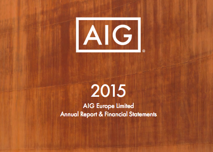 Front cover image of 2015 Annual Report