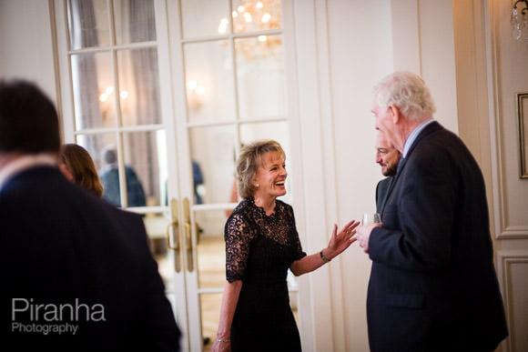 Esther Rantzen at corporate event in London