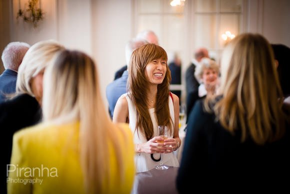 guests at drinks reception in London photographed by Piranha