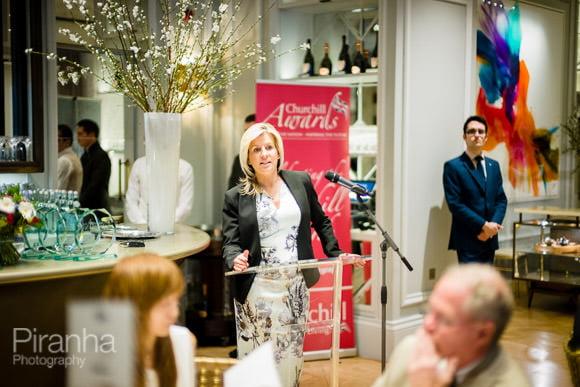 Speaches at London event - Mandarin Oriental