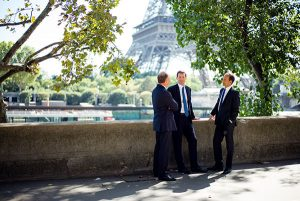 Photograph of Senior Management in Paris