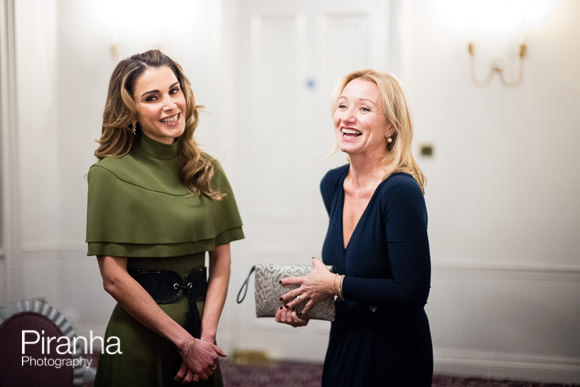 Queen Rania at FPA Awards evening in London