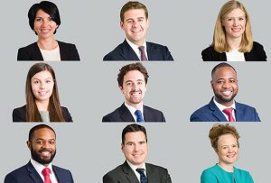 A selection of headshots taken for London Law firm