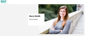 Staff portrait on private equity company web page