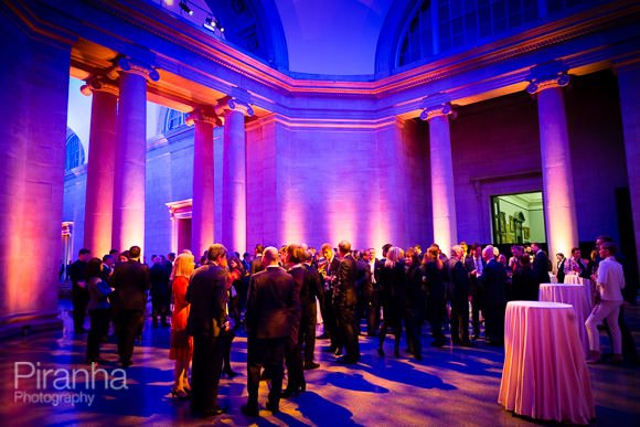 Tate Britain photographed during company party