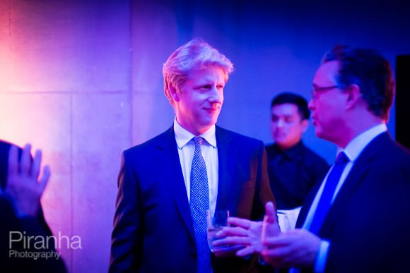 Photograph of Jo Johnson at Company Paty at Tate Britain