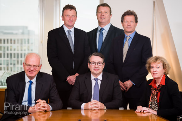 Board group photograph for report