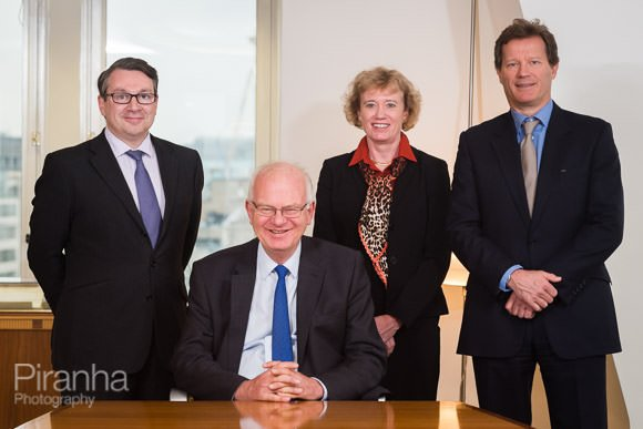 Board members pictured together for Annual report