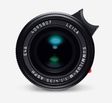 Photograph of New Leica 35mm Summilux Lens