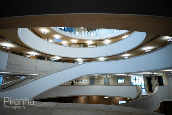 Inside the Blavatnik School of Government in Oxford