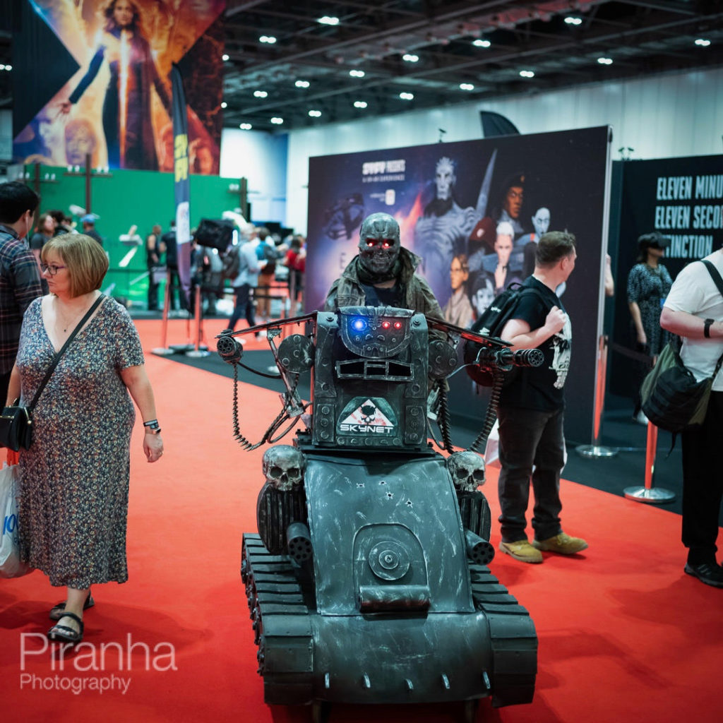 MCMComicCon for Relx - Photography at Excel 5