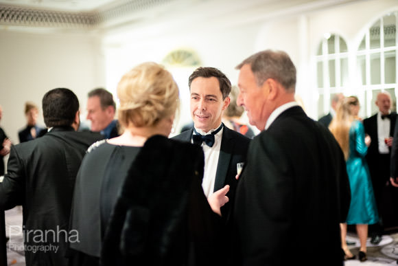 Drinks reception at Park Lane Hotel in london