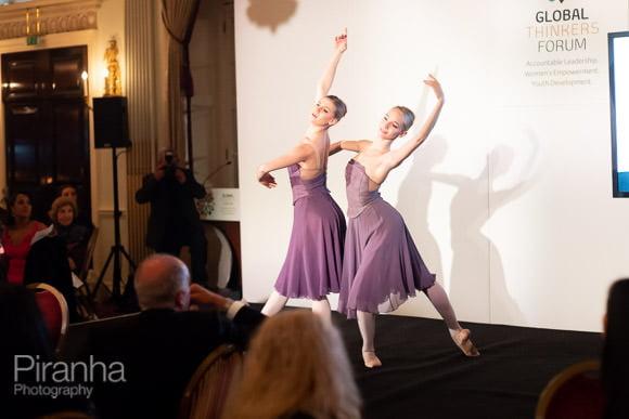 Dancers providing evening entertainment