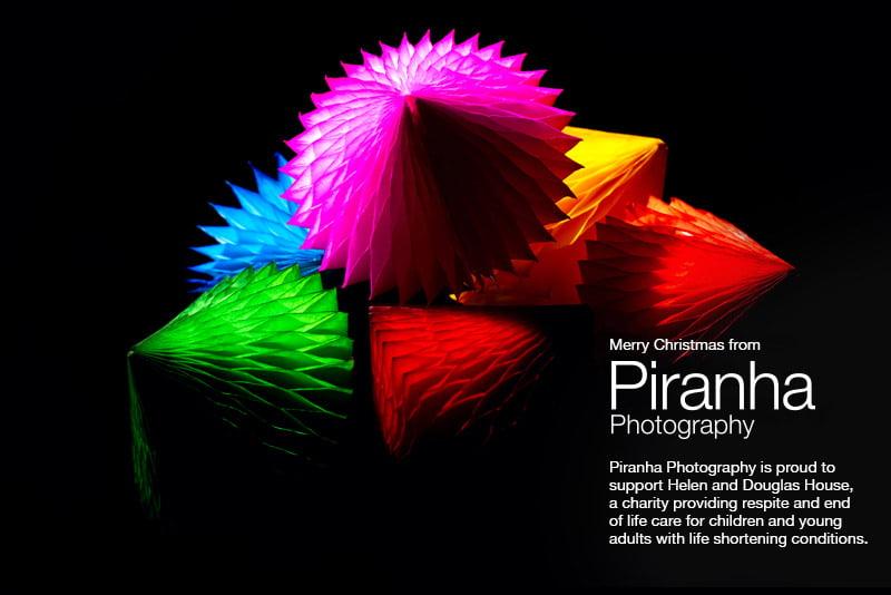 Christmas card from Piranha