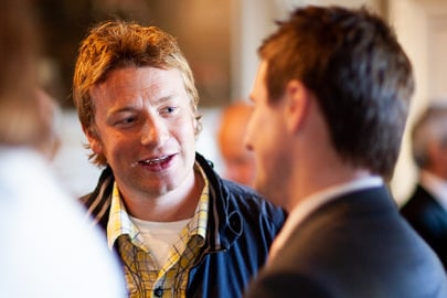 Photography of Jamie Oliver at London Event