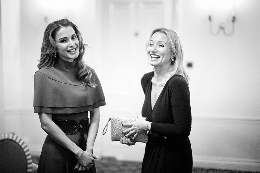 Queen Rania - corporate photographers - london