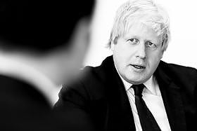 Boris Johnson pr photograph