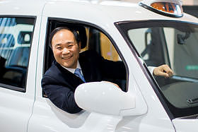 Chairman Li, Geely after London Taxi Company acquistion